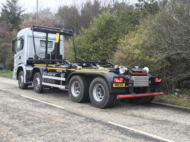 32 Tonne Scania G410 Hook Loader Truck For Sale MVB109 | MV