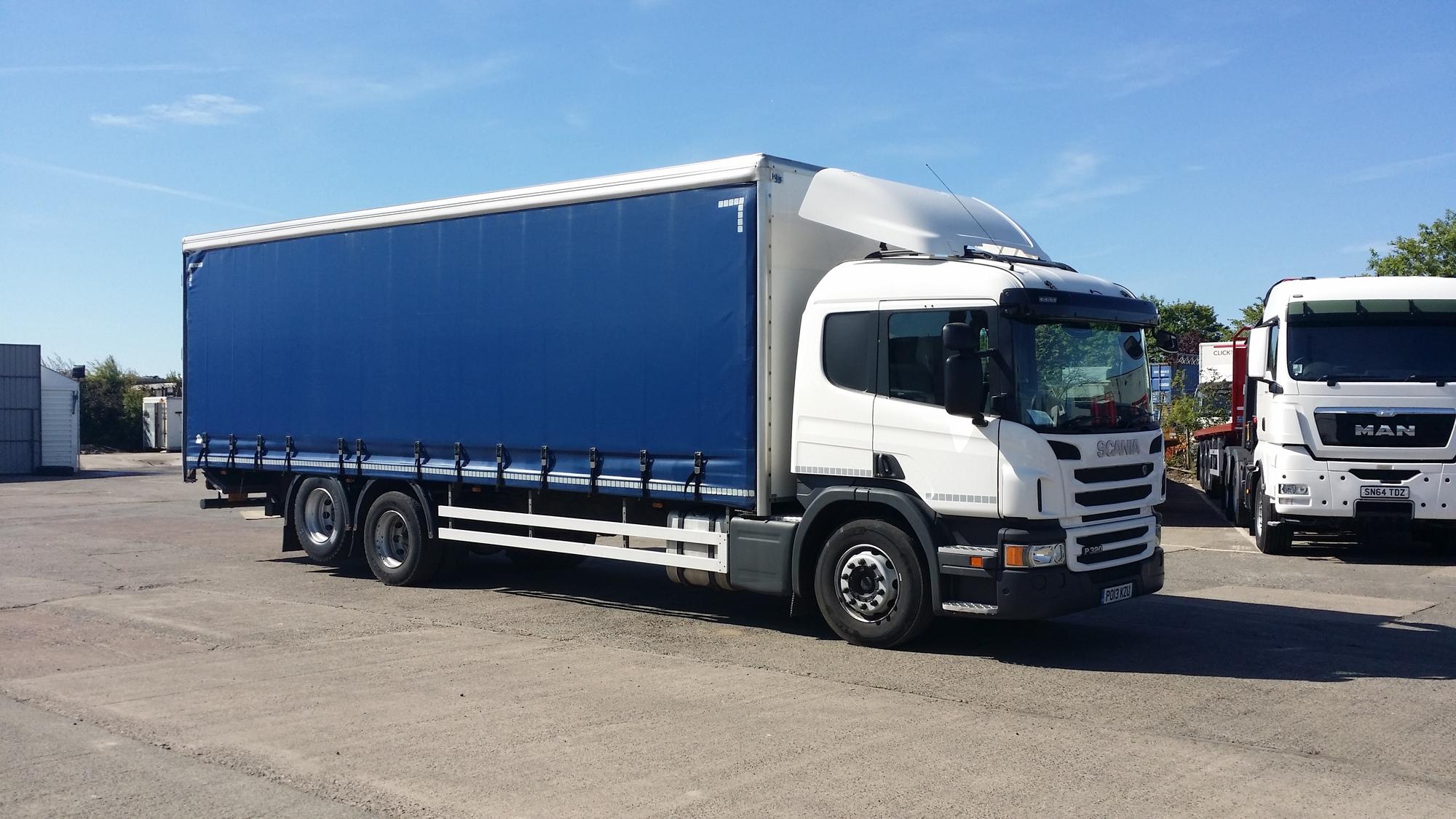 26 Tonne Scania P320 Curtainsider Truck For Sale Po13kzu